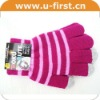 2012 Hotsale top class screen touch wool gloves for iphone,tablet pc and ATM device