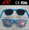 Dioptric Pinhole Glasses With Ostiole Lens sticker on lens printing logo on lens glasses