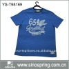 100% cotton man clothes with o neck t shirt