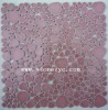 wall&floor different colors Chinese marble stone mosaic tile