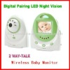 2.4 inch baby wireless video monitor