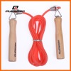 group wooden handle jump rope