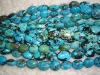 Natural Turquoise Oval Beads