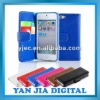 New Design Stylish Leather Wallet Case for The New iPhone 5