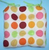 printed chair seat cushions/pads with ties