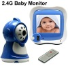 2.4G wireless baby monitor security system