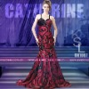 Arabic Spaghtti Strap Taffeta Evening Dress 2012 BN1087