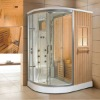 sauna and steam combined room