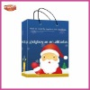 Supply quality light Santa Xmas carrier bag