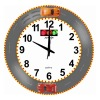 Hourly Chime racing car wall clock,musical wall clock