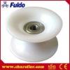 U Groove Small Plastic Pulley Wheels PU-55/08-30