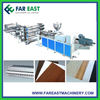 TPO,PVC,EVA,PE Waterproof Sheet/Floor Leather Extrusion Line