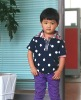 2012 kids fashion knitted t shirt