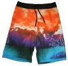 Summer sublimation printed mens beach short