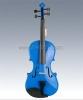 Carved Solid Spruce Top,Solid Maple Back and Side ,Student Violin(VG105) blue color