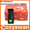 Christmas best gift! Android4.0 mini PC Google TV BOX IPTV net tv player MK802 smart android tv box