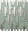 Crystal and metal trim tiles (SA047-18#)