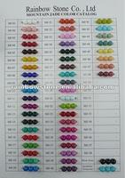 Dyed Jade Gemstone Bead Taiwan Factory Supply 10mm Round bead