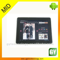 capactive touch screen android 9.7 tablet pc wifi mid 3g