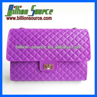 2012 Beautiful silicone shoulder bags for woman