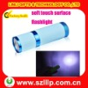 anti-skidding 9 leds aluminium flashlight