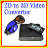 High Definision Video Converter from 2D to 3D,3D content convert to RC with high quality