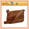 Mens Tan Leather Messenger Bag