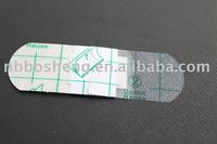 Transparent film plaster