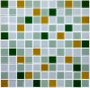 gold glass mosaic