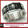 Skulls and Crossbones Stainless Steel Ring