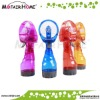 Battery operated plastic mini water spray fan beach