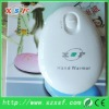 1800mA battery hand warmer hand pad hand heater with CE & ROHS for Christmas present