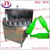 2012 semi-automatic bottle washing filling capping machine for all kinds of bottles