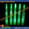 "ultra bright 16"" light up led foam stick baton with logo"
