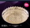 hot-selling crystal ceiling lamp for hotel project and villa 85328D1000H360L28