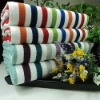Rentangle Cotton Customized Yarn Dyed bath towels CU-307