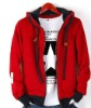 red black hoodie