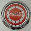 Coca Cola Neon Wall Clock