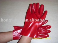 PVC industry glove