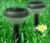 2-LED High Quality Anti-Heat Plastic Solar Garden lamps