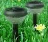 2-LED High Quality Anti-Heat Plastic Solar Garden lamps
