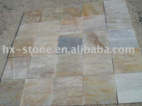Golden Quartiz paving