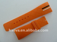 2011 Newest Polychrome Pu Watchband