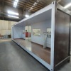 flat package container house