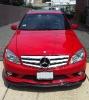08-10 Mercedes Benz C W204 Sport Style Carbon Fiber lip