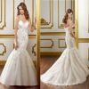 Hot sale new designer strapless mermaid wedding dress (BS560)