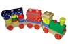 wooden small train educational toys