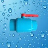 Pvc High Quality With Blue Color Ball Valve