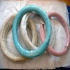 BWG 10-24 Colorful PVC coated gi iron wire (HT-TS-003)