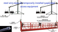 steel wire ropes for platform ZL6300